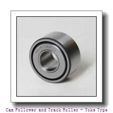 CONSOLIDATED BEARING NA-2207-2RSX  Cam Follower and Track Roller - Yoke Type