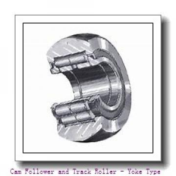 INA LR202-X-2RSR  Cam Follower and Track Roller - Yoke Type