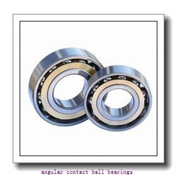 105 mm x 225 mm x 49 mm  TIMKEN 7321WN MBR  Angular Contact Ball Bearings #3 image