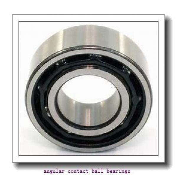105 mm x 225 mm x 49 mm  TIMKEN 7321WN MBR  Angular Contact Ball Bearings #2 image