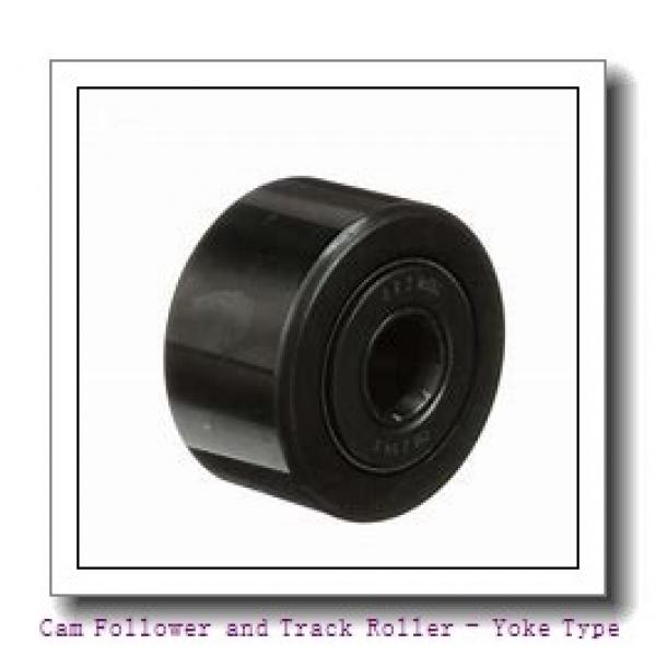 CONSOLIDATED BEARING 361206-2RSX  Cam Follower and Track Roller - Yoke Type #2 image