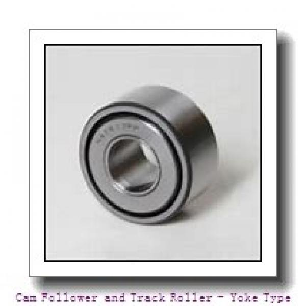 CONSOLIDATED BEARING 361206-2RSX  Cam Follower and Track Roller - Yoke Type #3 image