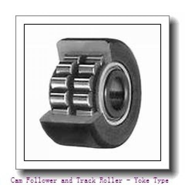 CONSOLIDATED BEARING NA-2203-2RSX C/3  Cam Follower and Track Roller - Yoke Type #1 image