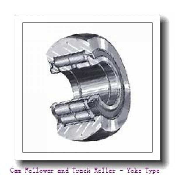 CONSOLIDATED BEARING 361204-2RSX  Cam Follower and Track Roller - Yoke Type #3 image