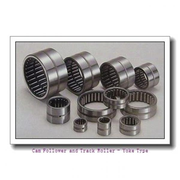 CONSOLIDATED BEARING 361202-2RSX  Cam Follower and Track Roller - Yoke Type #2 image