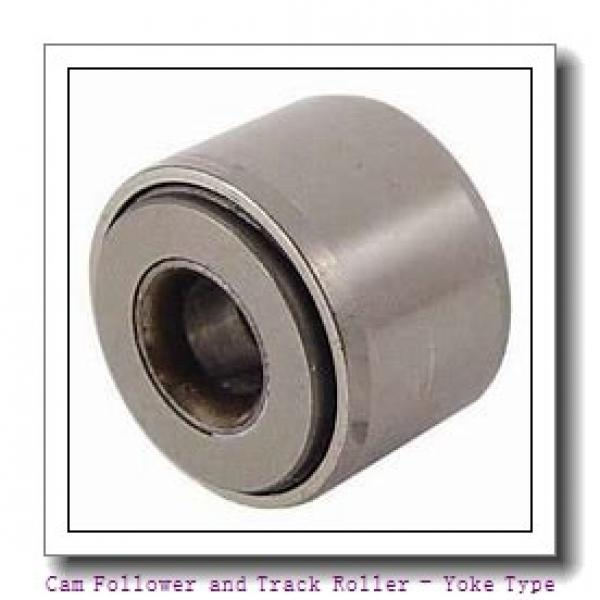 CONSOLIDATED BEARING 361204-2RS  Cam Follower and Track Roller - Yoke Type #3 image