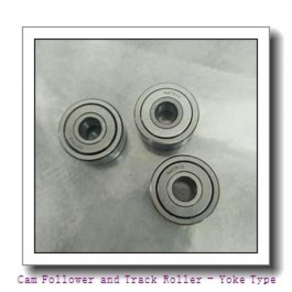 INA NATR50-X-PP  Cam Follower and Track Roller - Yoke Type #1 image
